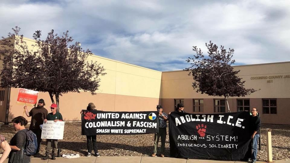 Flagstaff community protests spate of ICE detentions