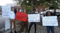 Today PSL and other activists in South Carolina rallied to demand the evacuation of the prisons