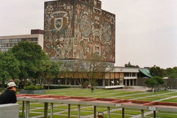 UNAM main campus in Mexico City. Photo: Abel Pardo López