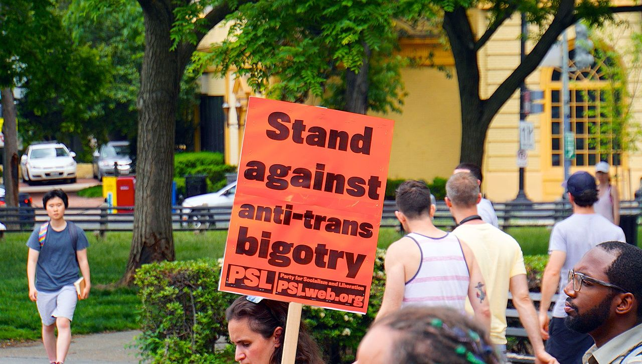 Trans people cannot be erased — fight back!