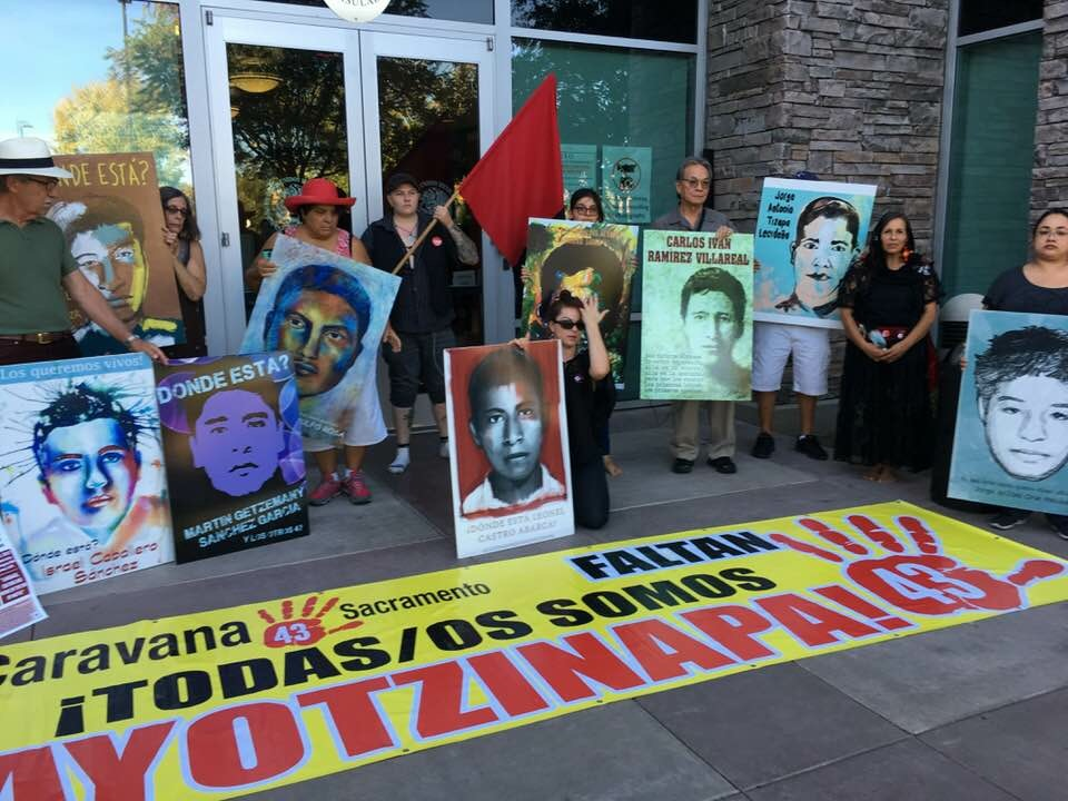 Photo of Vigil at Mexican Consulate marks 4 years since Ayotzinapa disappearance