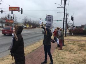 Fayetteville, Arkansas. Liberation photo.