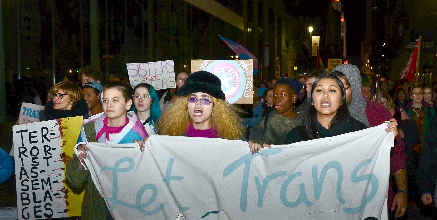 Photo of NYC: 'Trans liberation is everyone's liberation!'