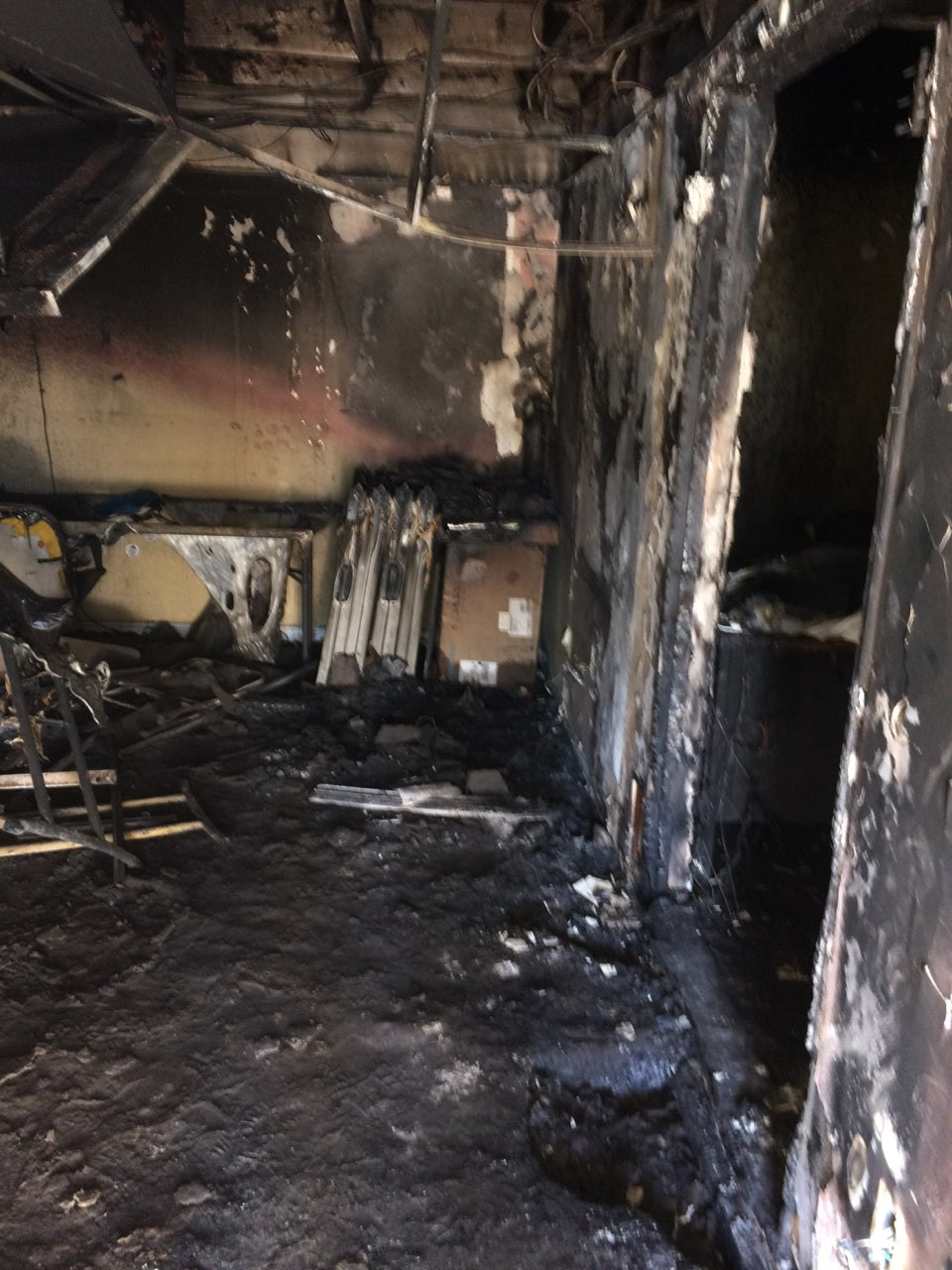 Photo of Chula Vista ACCE office targeted by arsonist