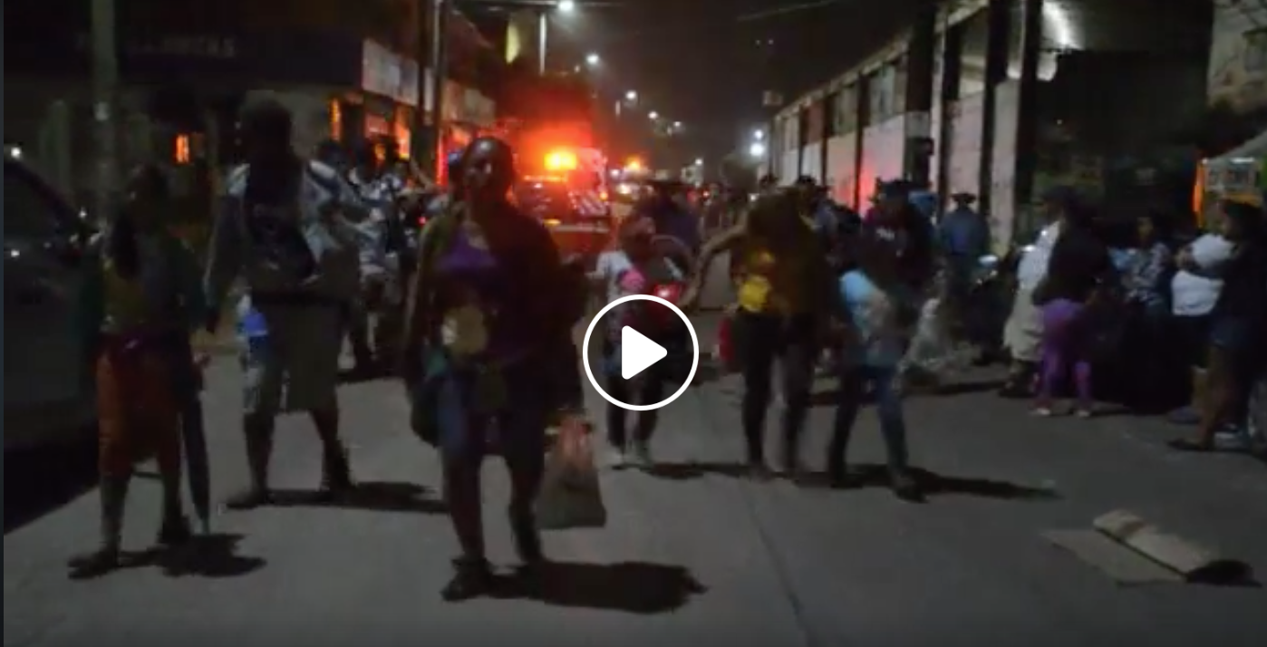 Photo of Video: Day 3 with the refugee caravan, from La Isla headed to Mexico City
