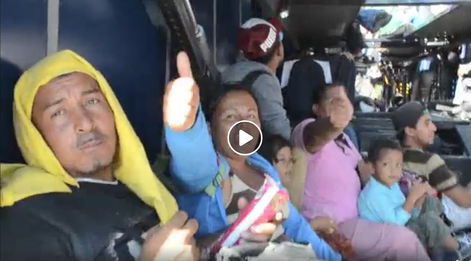 Photo of Video: Day 4 with the refugee caravan, interviews in Mexico City
