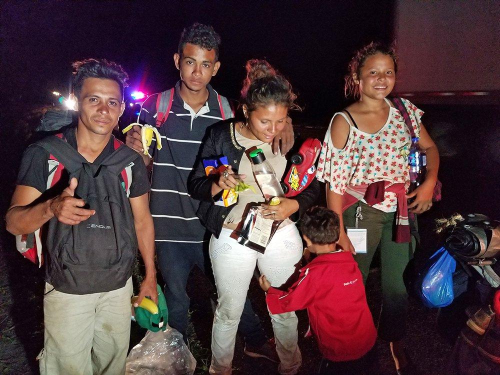 Testigo ocular: nuestro primer encuentro con la caravana de Honduras