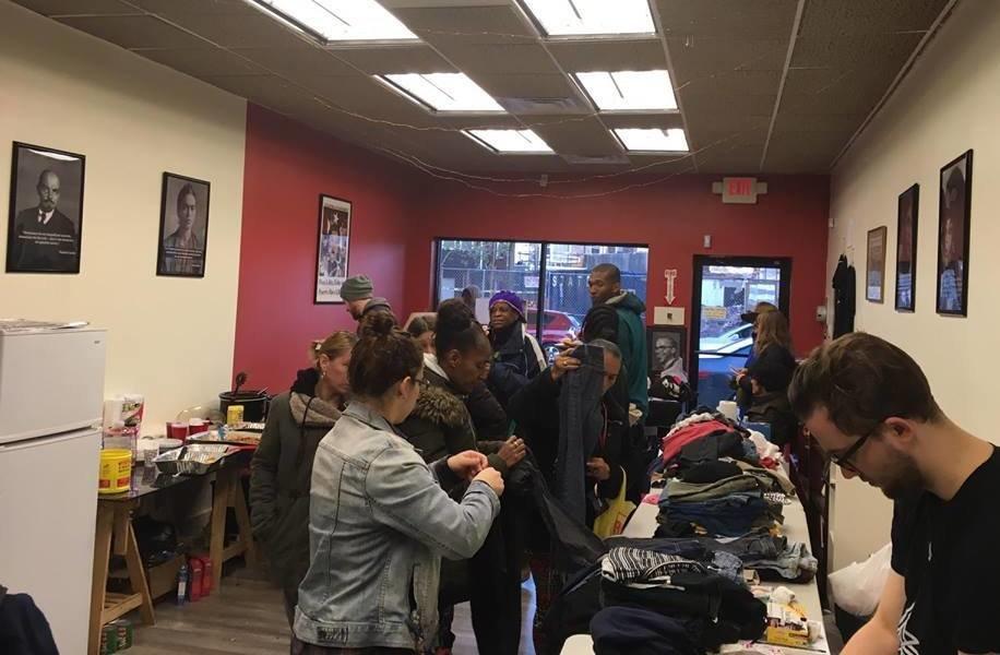 Kensington Unity Day: Philadelphia Liberation Center hosts successful winter clothing drive