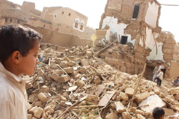 Las bombas y los aviones utilizados por la coalición liderada por los sauditas para destruir este país están suministrados por el Pentágono