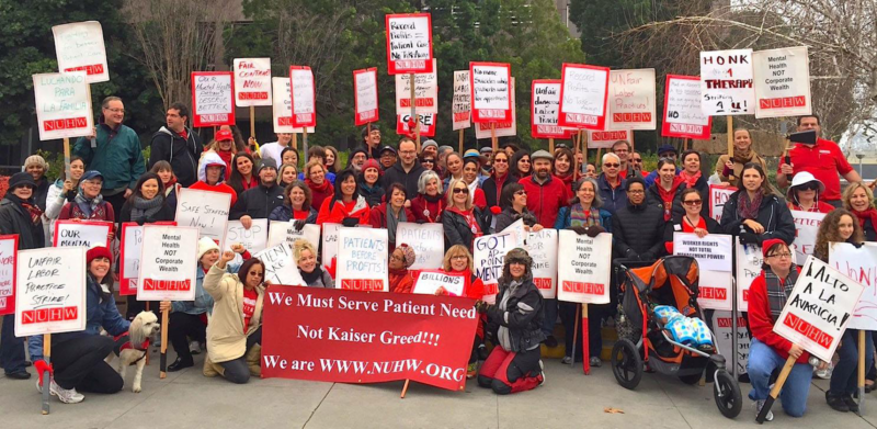 Kaiser Strike: 'Civil Rights issue of our time'