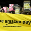 Trabajadores de Amazon en Alemania. Foto: Aida Mojica