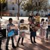 San Francisco, 3 de noviembre del 2017. Un mitin contra la continua participación de Estados Unidos en la guerra liderada por los saudita en Yemen. Foto por Liberation