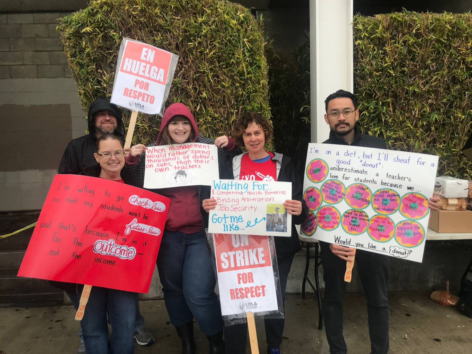 Eyewitness: LA charter school teachers on strike