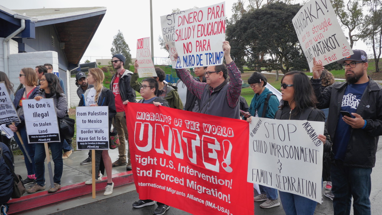 Photo of Weekend of Solidarity with Refugee Caravan in San Diego
