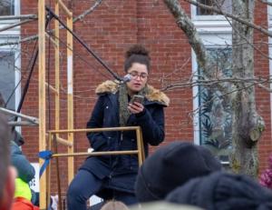 Portsmouth, NH, Jan. 19, Liberation photo.