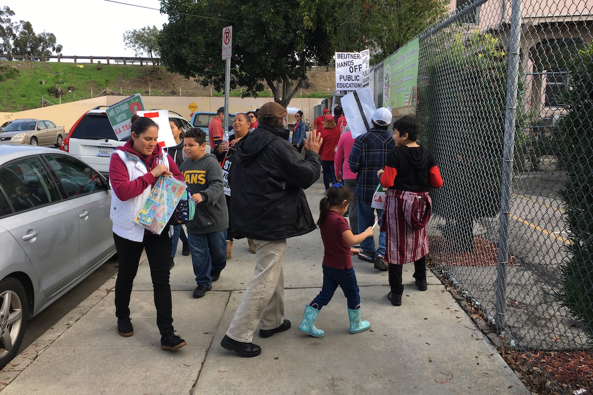 Photo of Eyewitness: Day five of LA teachers' strike
