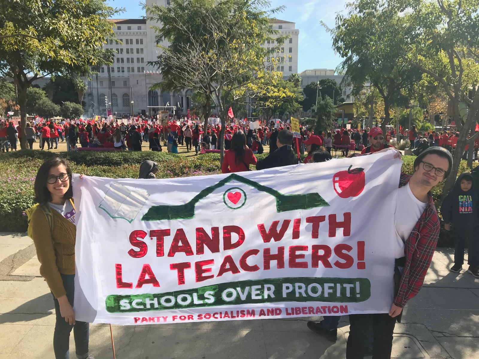 Agreement reached in Los Angeles teachers' strike
