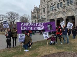 Hartford, Ct. Jan. 19, Liberation photo.