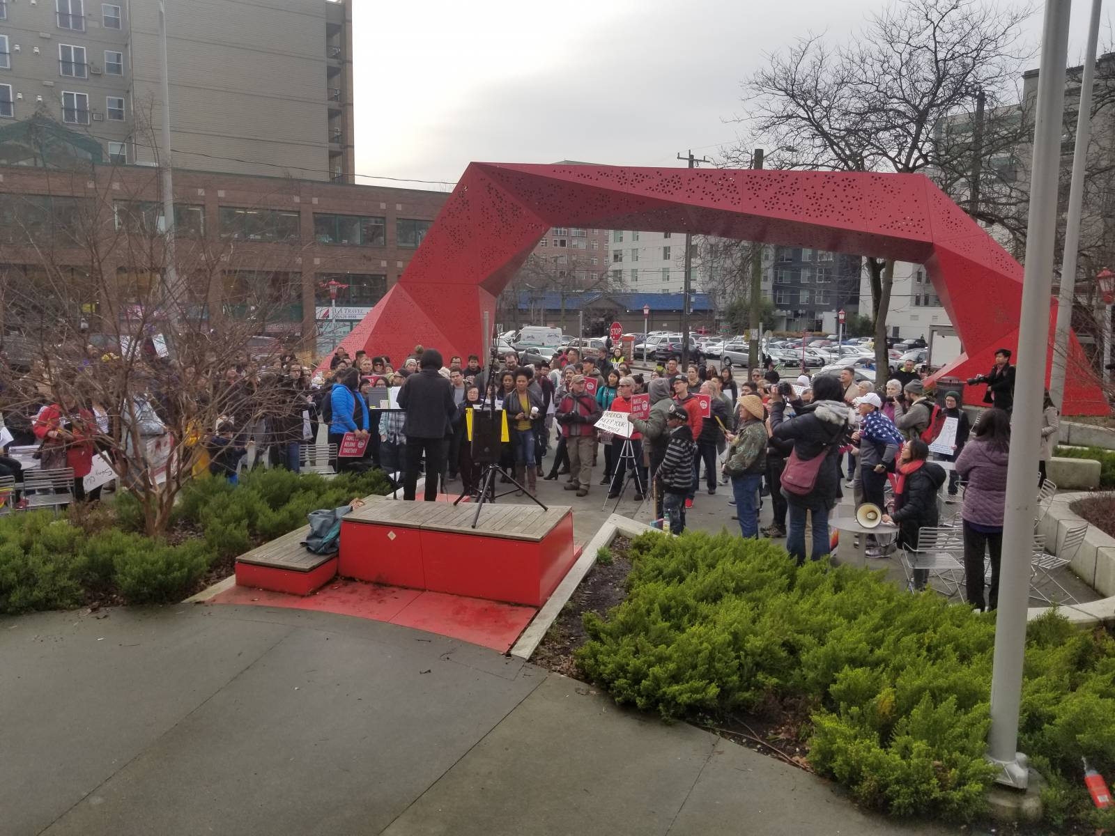 Photo of Seattle communities rally against new anti-Vietnamese deportation policy