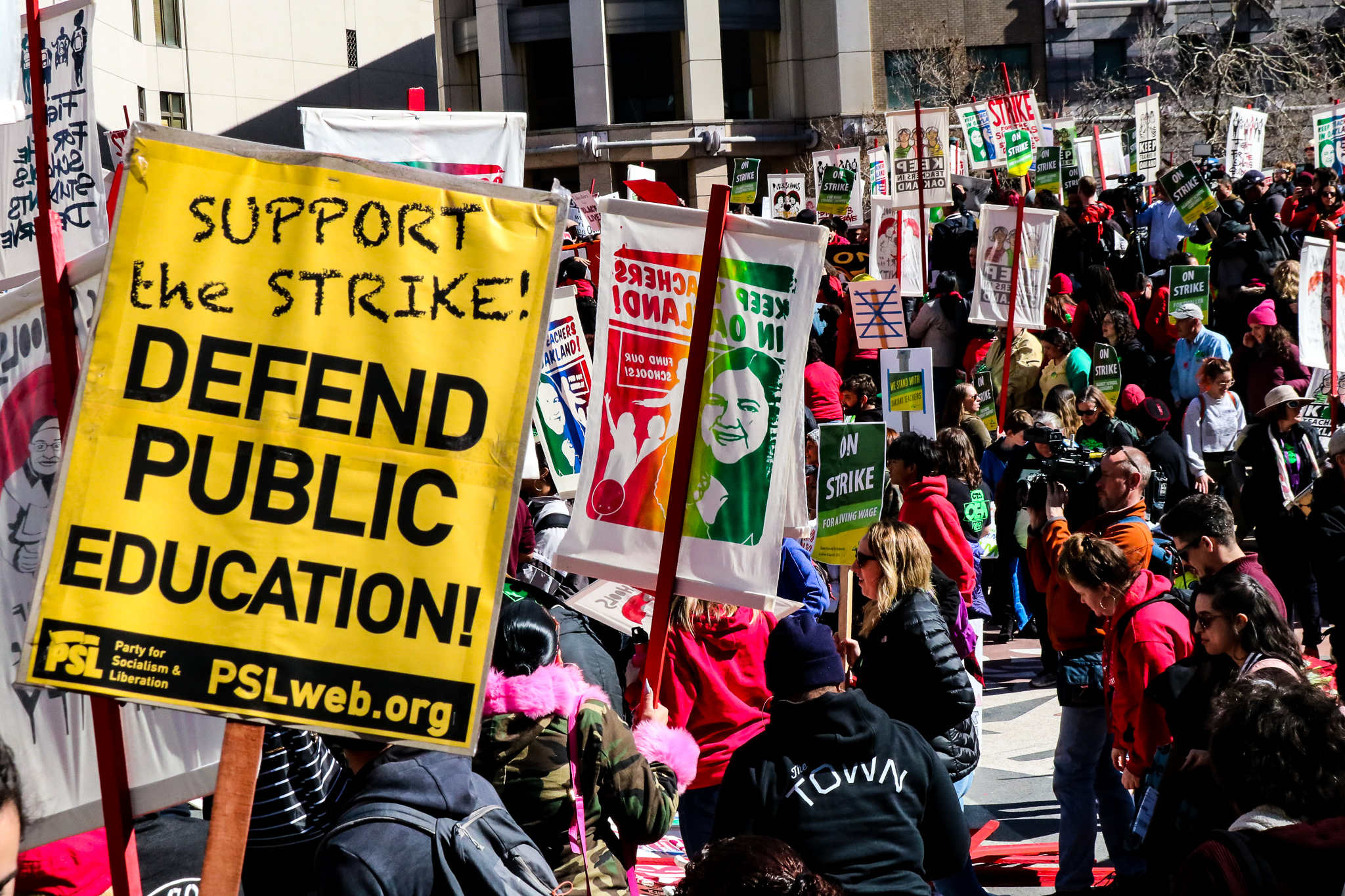Photo of Oakland educators' strike enters 4th day strong and united