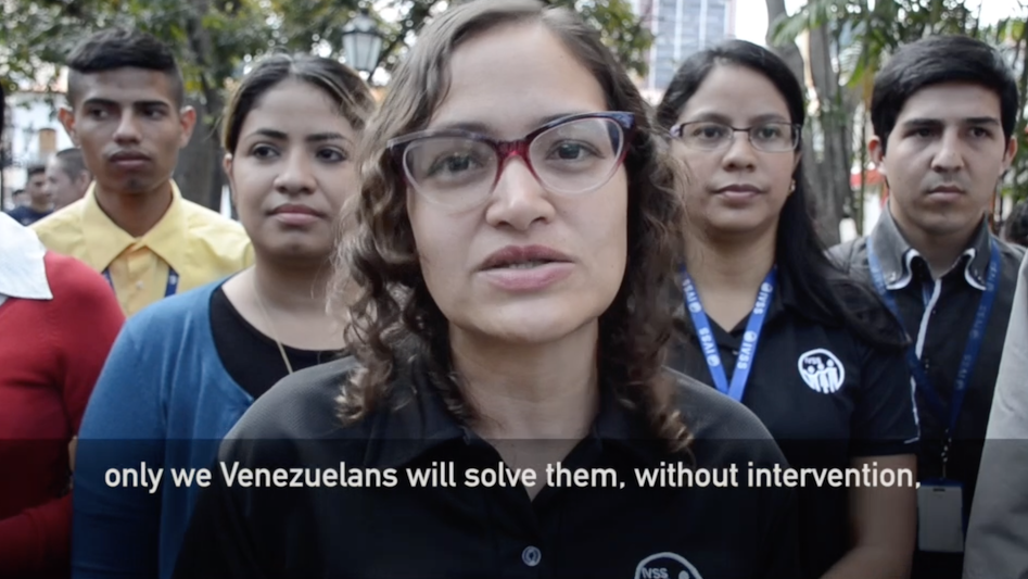 Photo of The Real Venezuela: 'Ready for the call to defend our homeland'