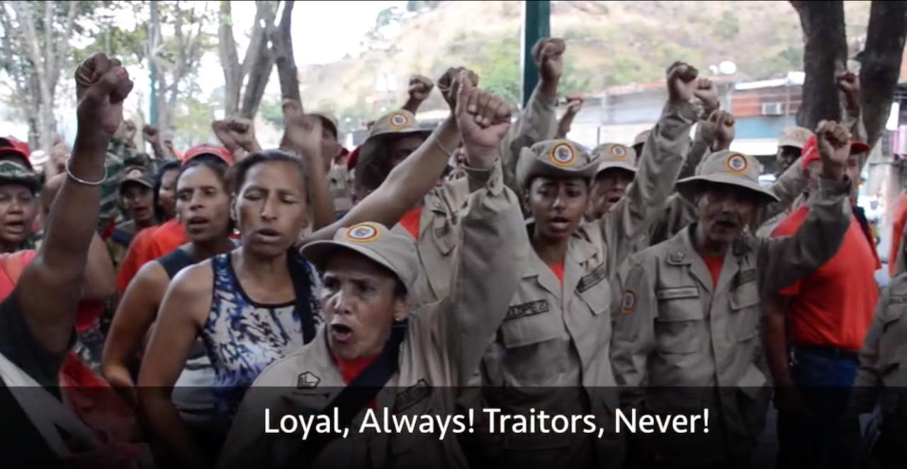Photo of Video: Venezuelan people mobilize against U.S. aggression [Exclusive]