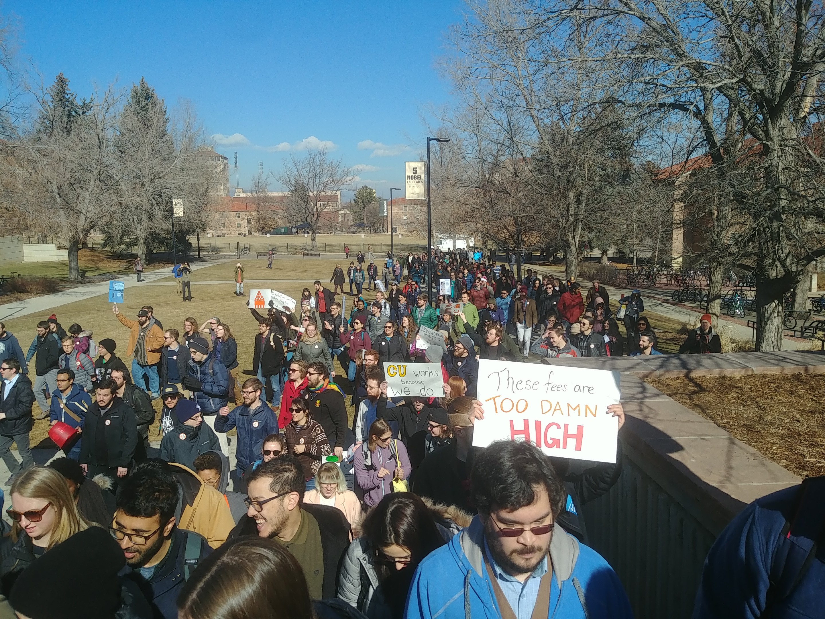"Photo of UC Boulder takes back grad student wages with ""mandatory fees"""