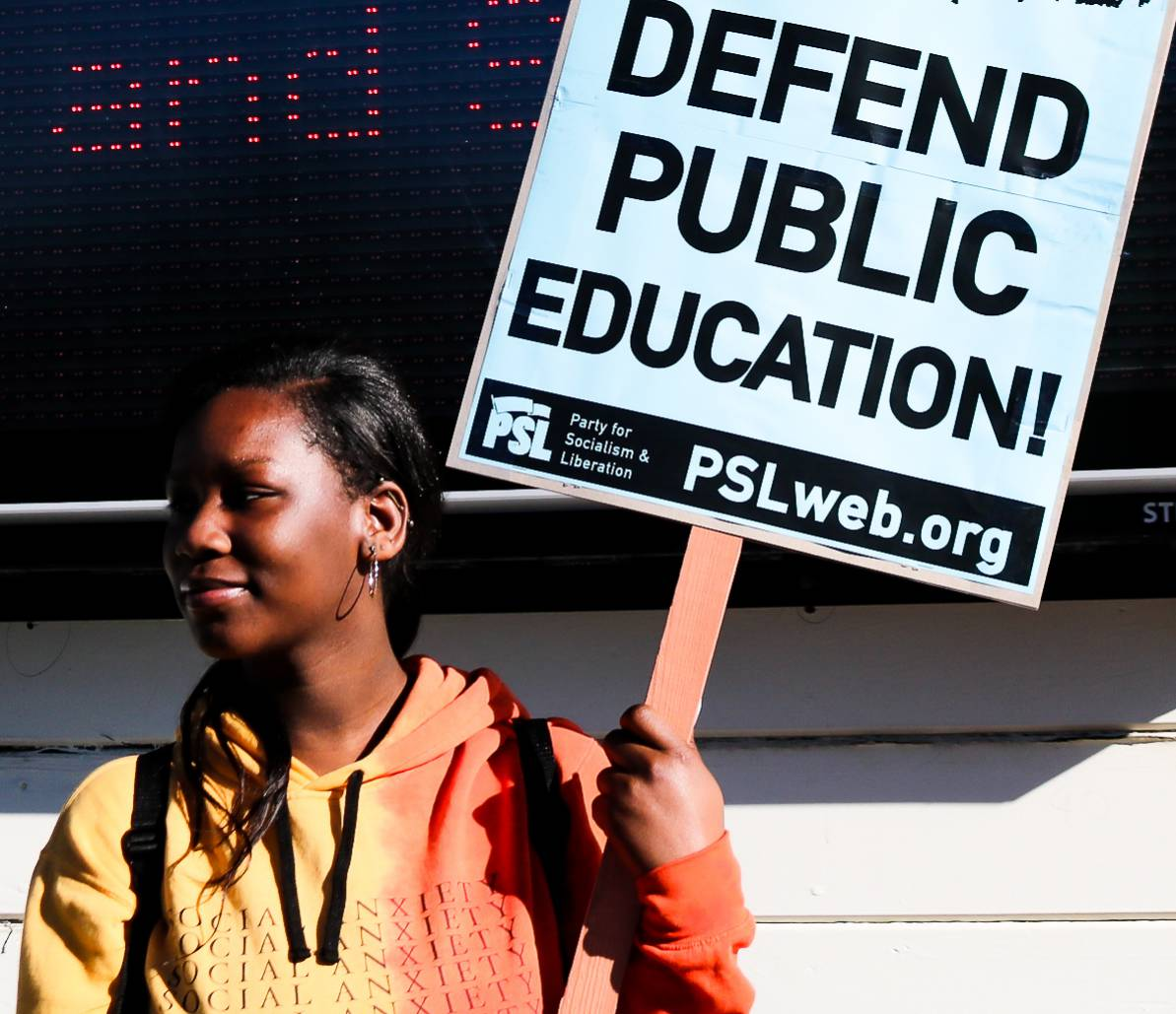 Photo of Oakland teachers' strike day one: voices from the picket line