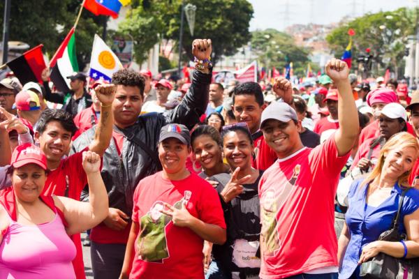 Mobilization in defense of constitutional President Nicolás Maduro. Caracas, Jan. 23, 2019 | Photo: Prensa CRBZ