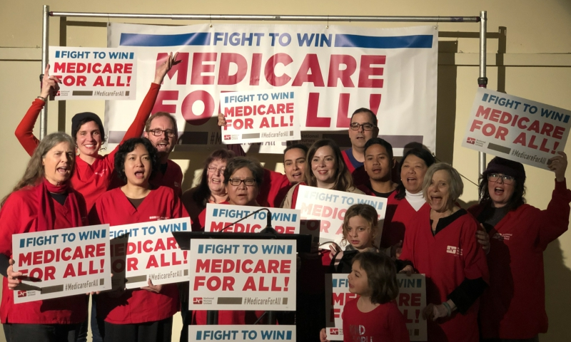 Photo of Nurses organize impressive barnstorm launching 2019 Medicare for All campaign