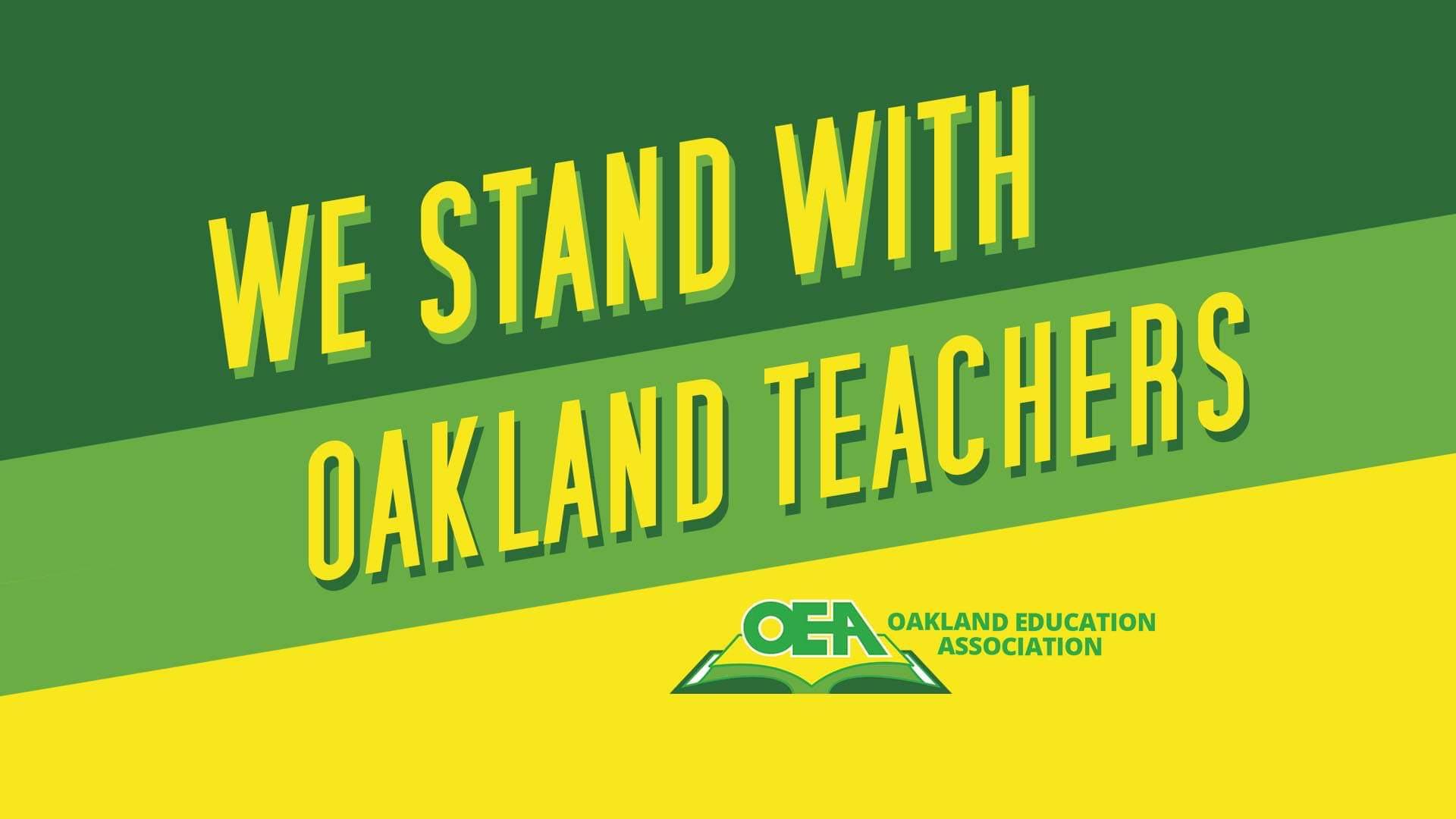 Oakland teachers mobilize to defend public education