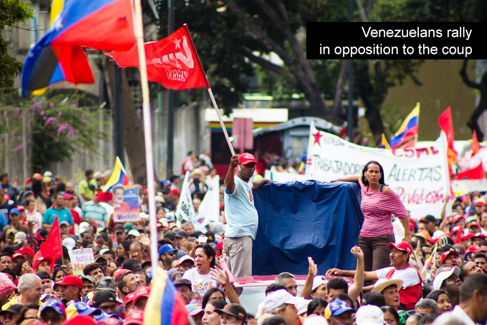 National March on Washington: Hands off Venezuela! No coup, no sanctions, no new U.S. war!