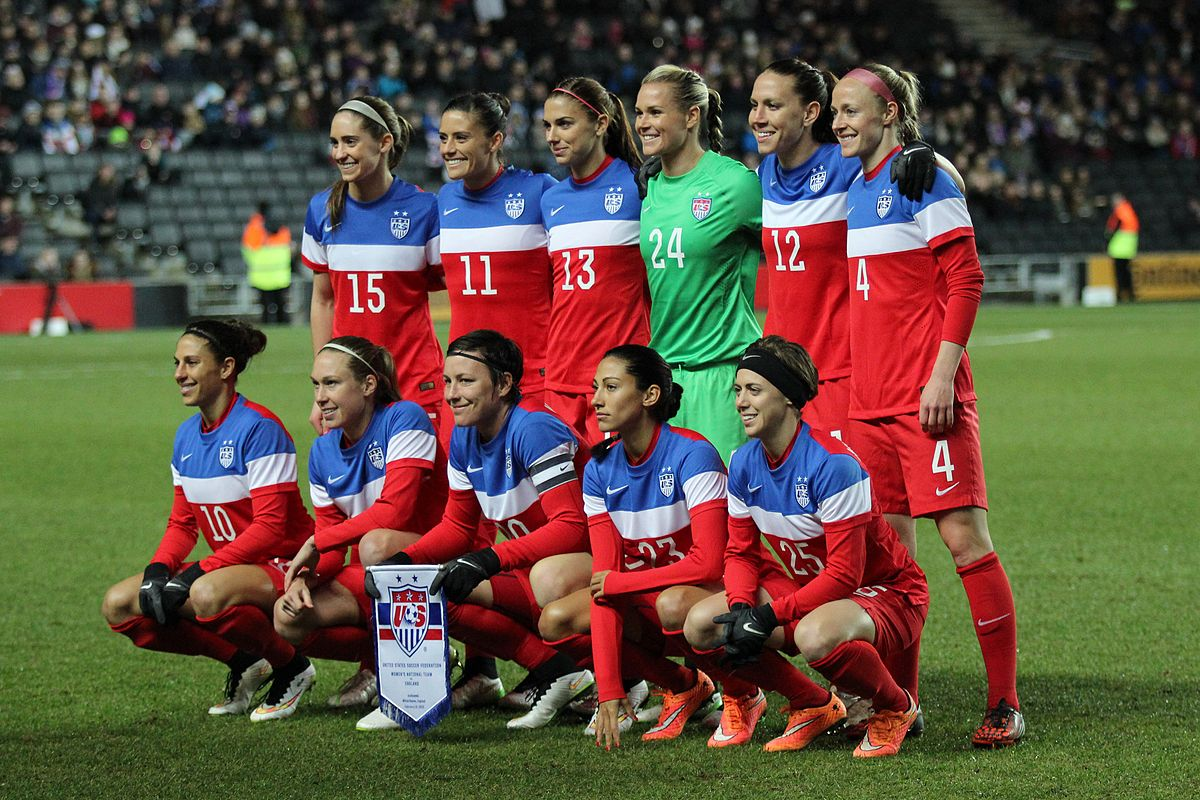 0cad9f5a220 US women s national soccer team sues for equal treatment ...