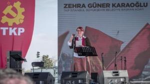 TKP's mayoral candidate for İstanbul, Zehra Güner Karaoğlu