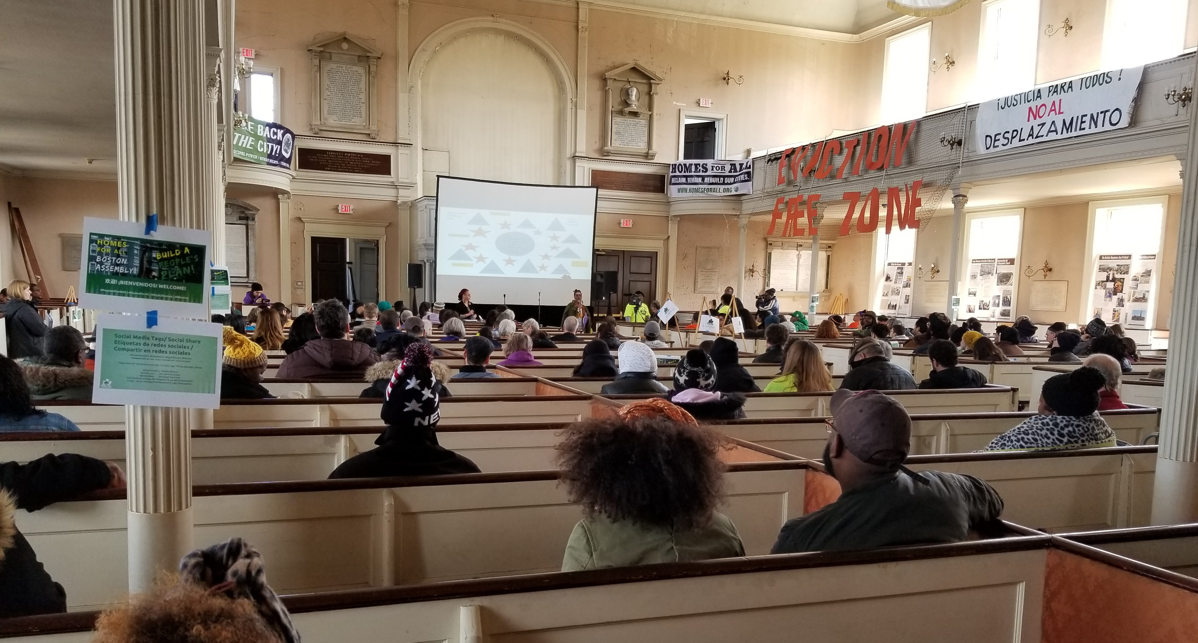 Photo of Housing Assembly organizes for Boston People's Plan
