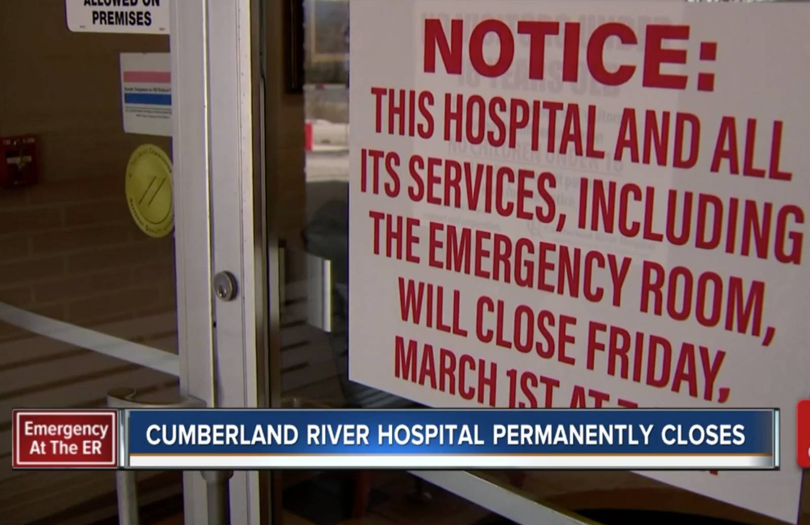 Hospital closures create havoc in rural Tennessee