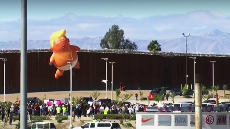 Photo of Trump visits Calexico