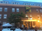 Embassy of Venezuela in Washington, D.C. Power has been cut to the building. ANSWER Coalition photo
