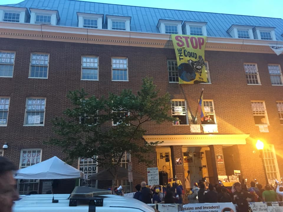 Statement from Venezuelan social movements to Embassy Protectors in U.S.