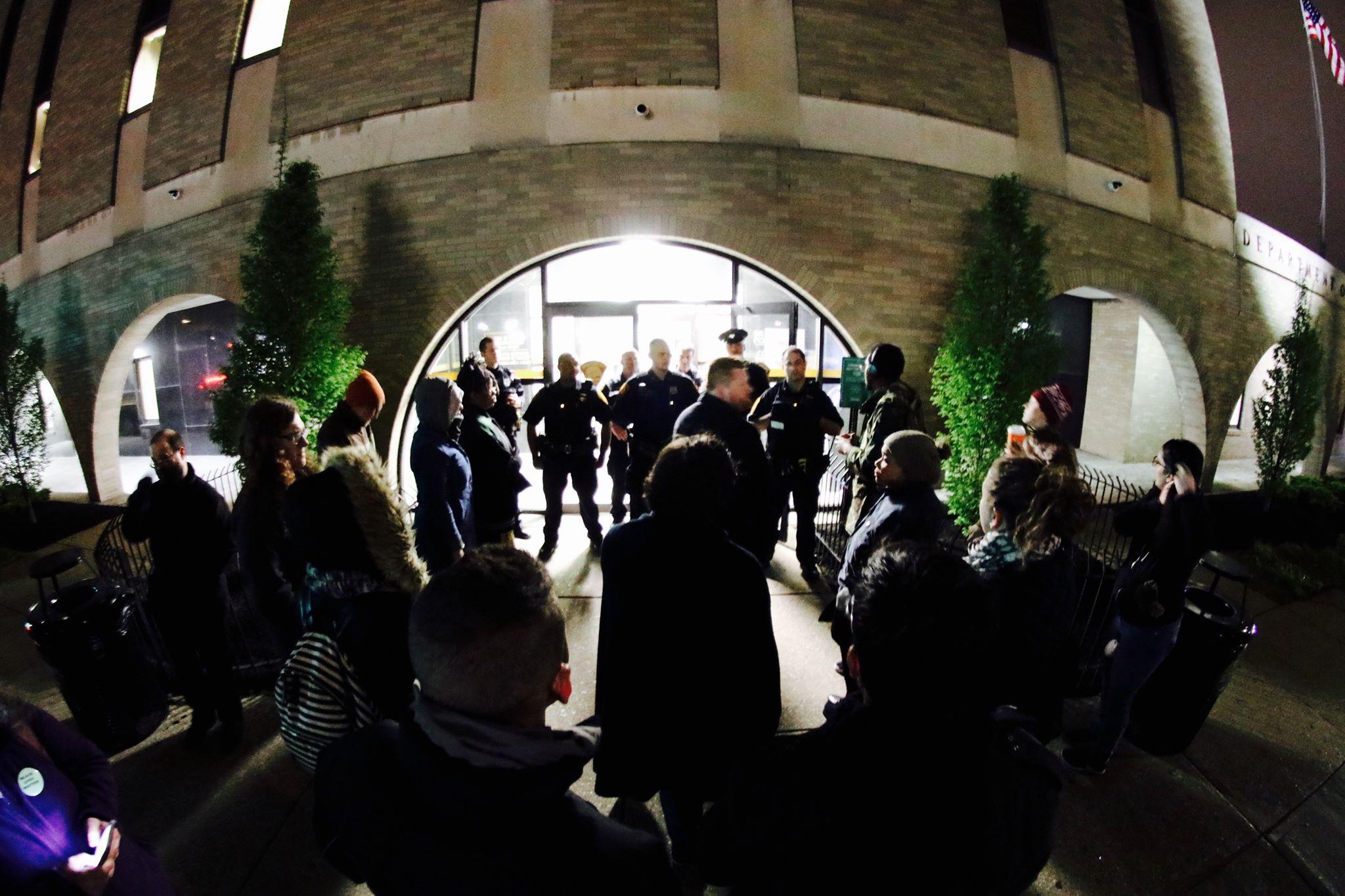 Bridgeport police raid #JusticeForJayson memorial, community demands justice