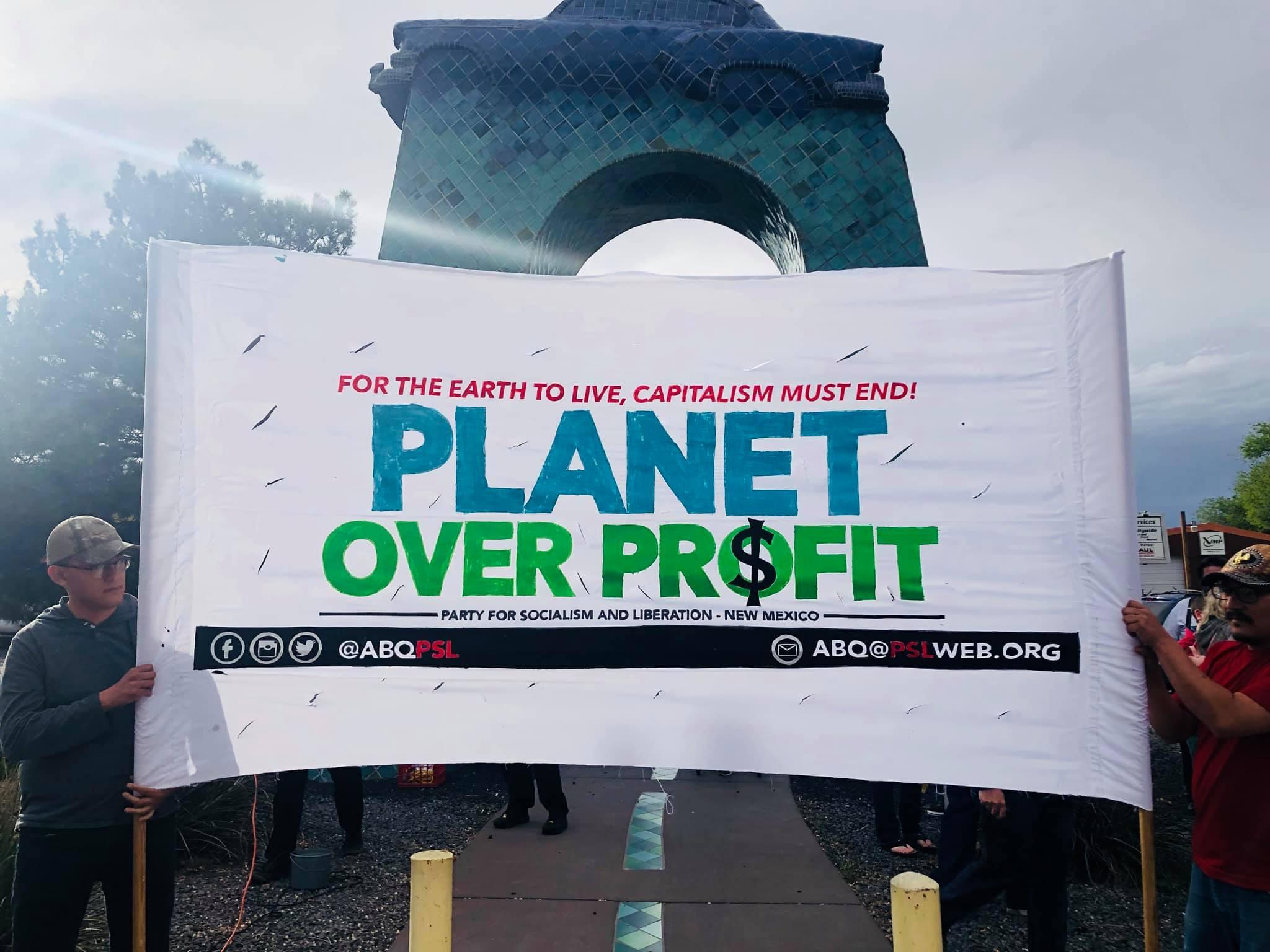 Photo of Día de la Tierra en Nuevo México, donde se unen el ecologismo y el antimilitarismo