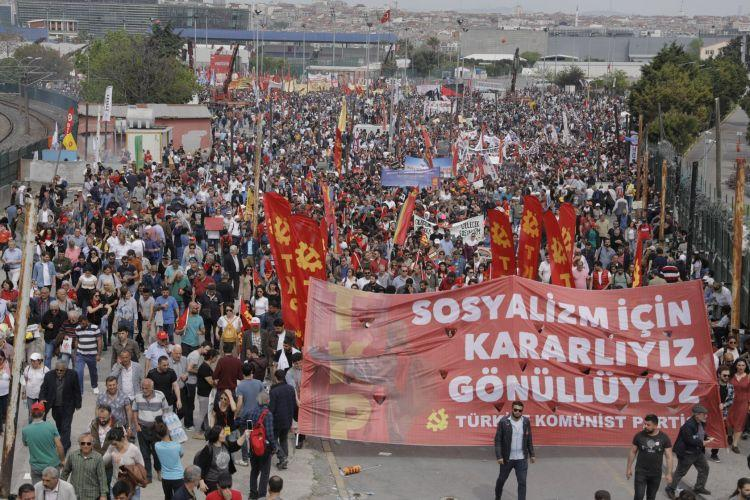 Photo of TKP: Massive May Day rallies all around Turkey