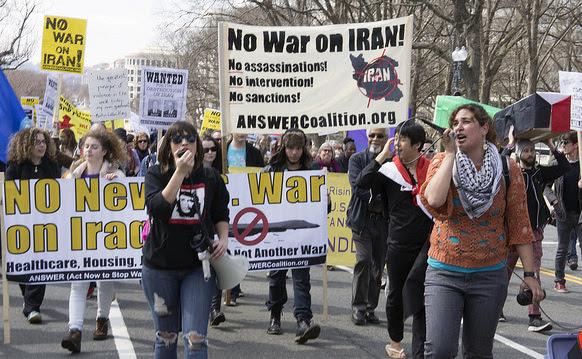 Near-war on Iran: US war machine 'cocked & loaded'