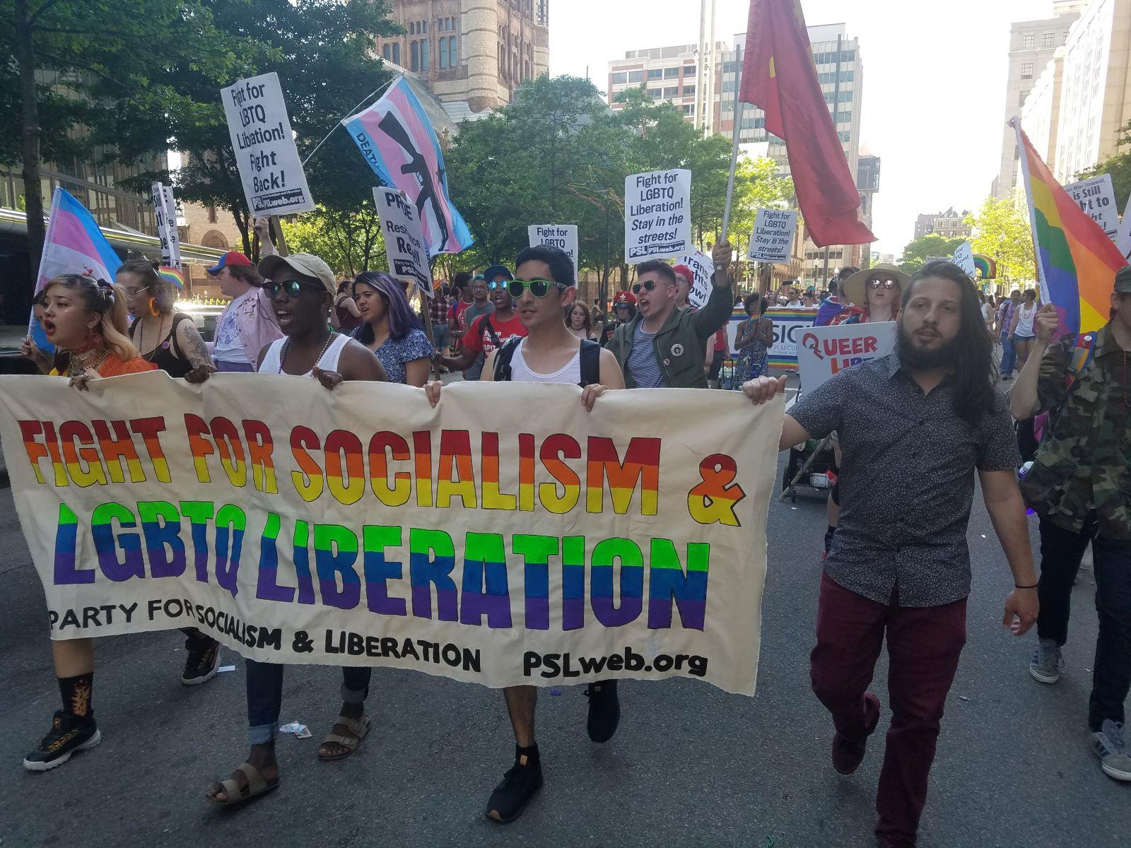 Photo of Activists honor radical roots of LGBTQ liberation movement at Boston Pride events
