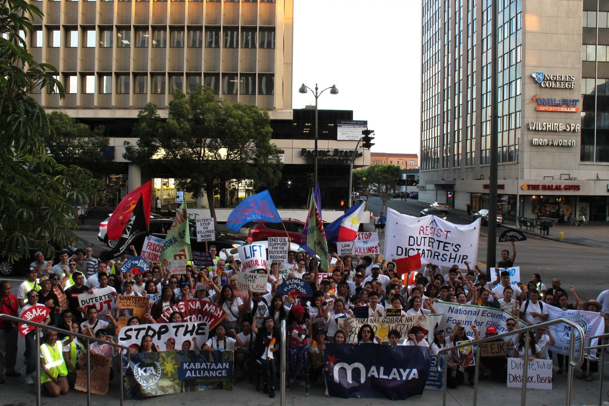 Photo of 'People's State of the Nation' events counter lies of President Duterte