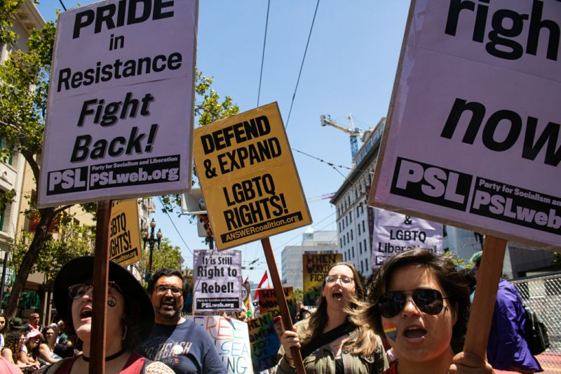 Call to revive militant history of Stonewall resonates with SF Pride celebrants