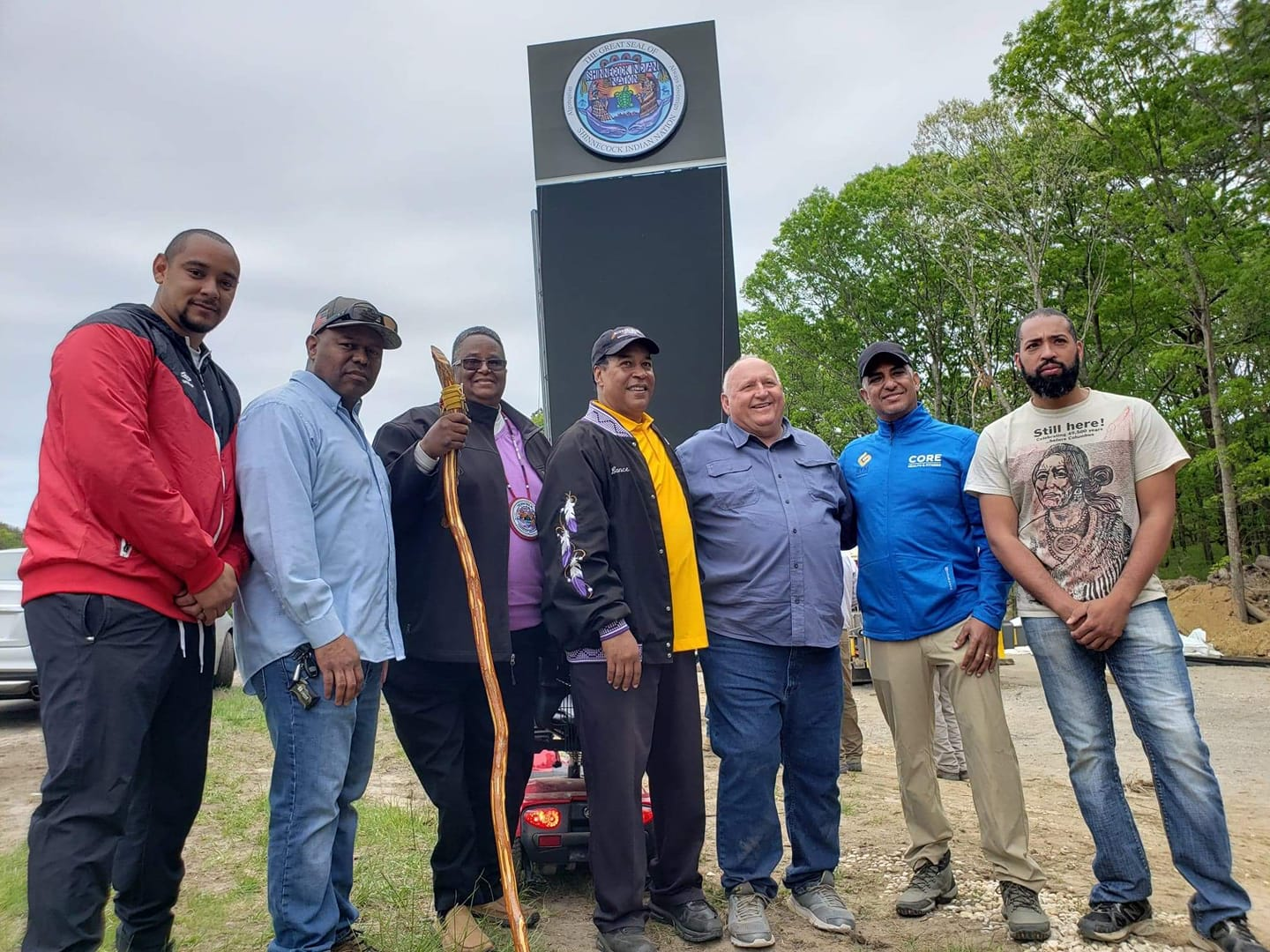 Shinnecock nation fights backlash from affluent for building