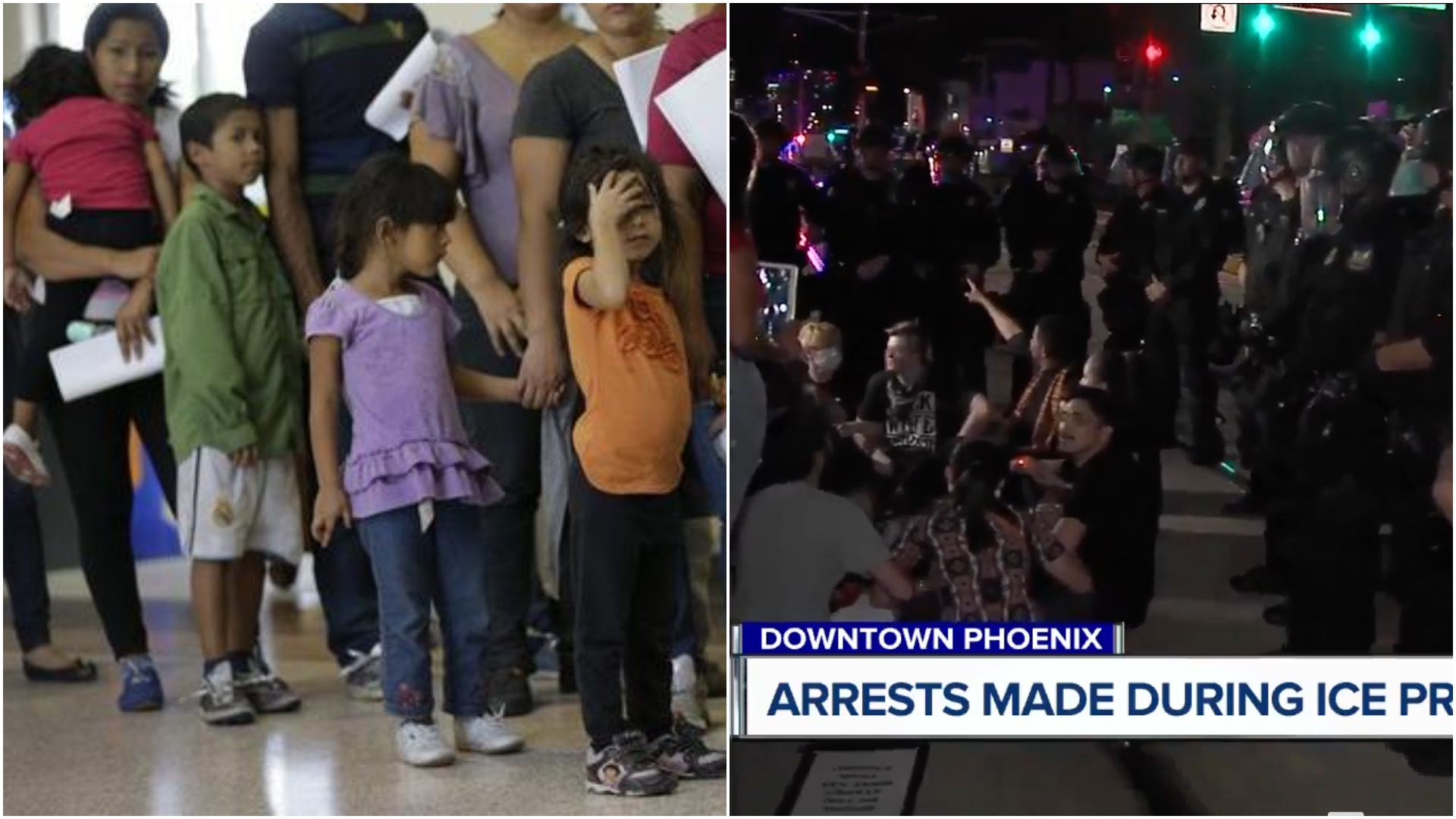 Photo of Children abused in ICE camps, thousands protest in Phoenix