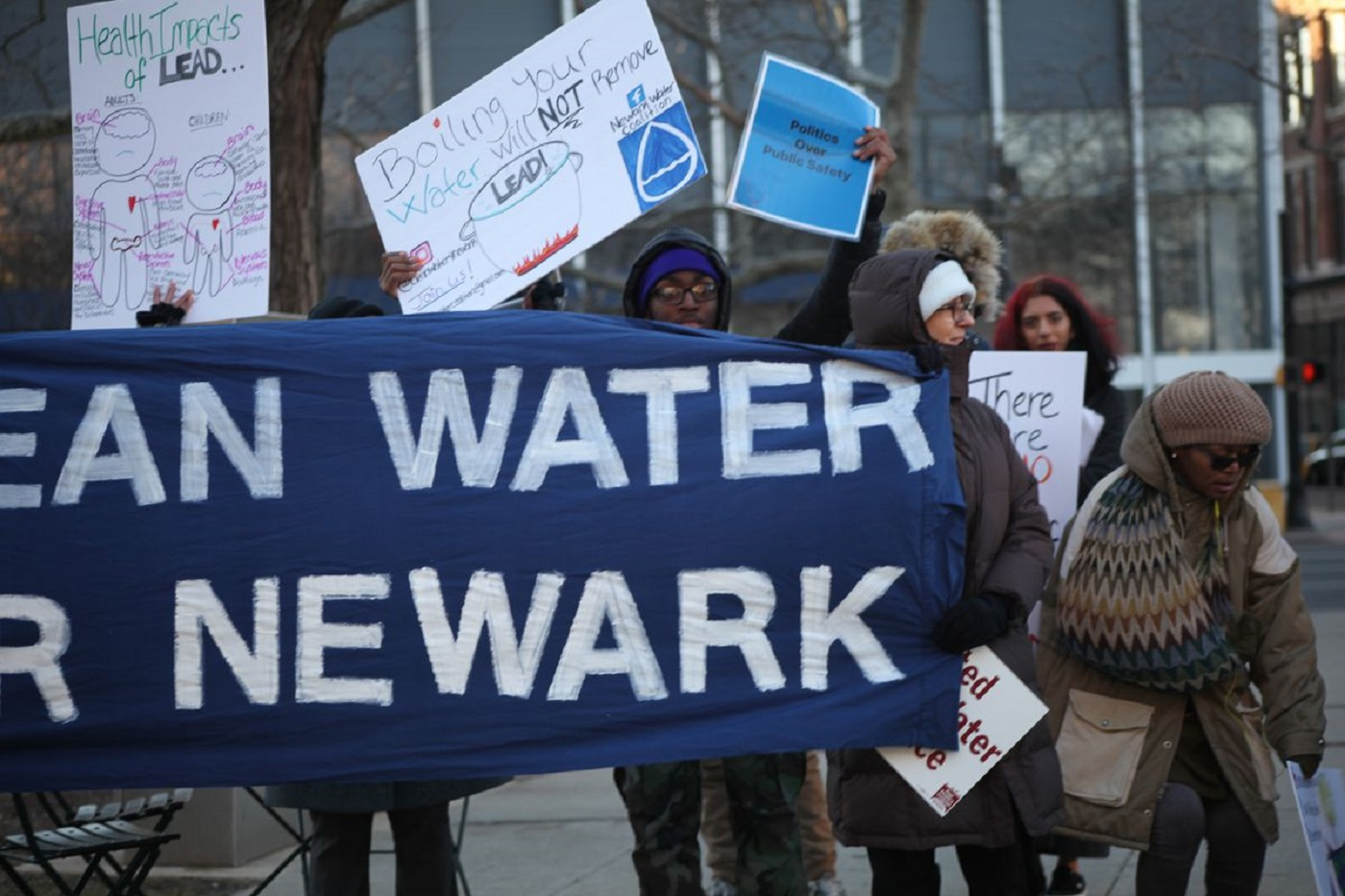 Photo of Newark fights for clean water
