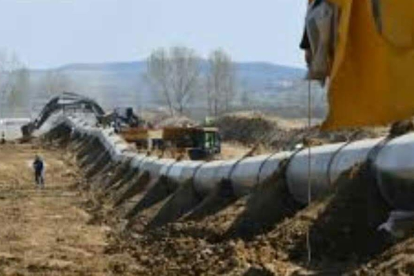 Pipeline in Yaqui territory.